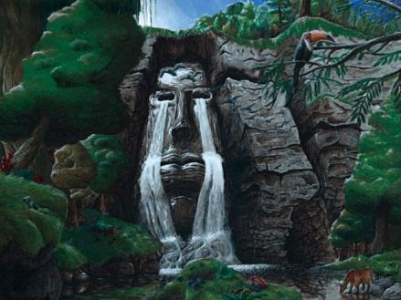 Teocali: Visage d'obsidienne